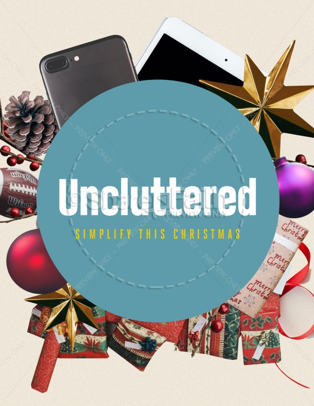 Uncluttered Christmas Church Flyer