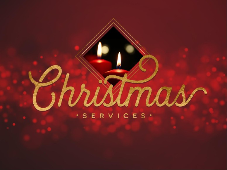 Christmas Church Services PowerPoint Template