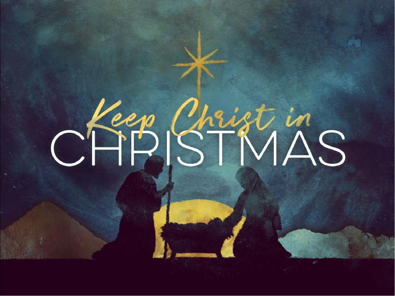 Keep Christ In Christmas Sermon PowerPoint