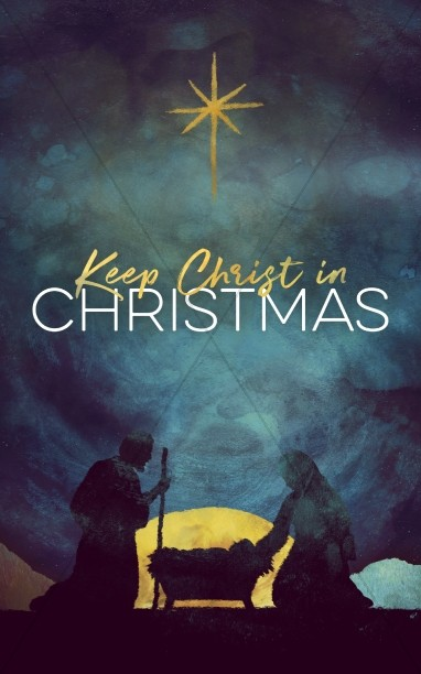 Keep Christ In Christmas Church Bulletin
