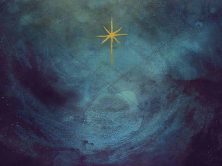Star Of Bethlehem Christmas Worship Graphic
