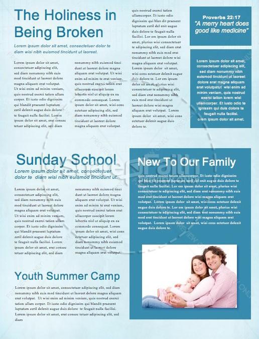 Seek First The Kingdom Of God Church Newsletter