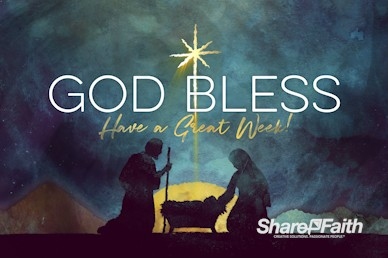 Keep Christ In Christmas Goodbye Motion Graphic