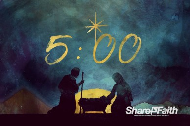 Keep Christ In Christmas Church Countdown Video