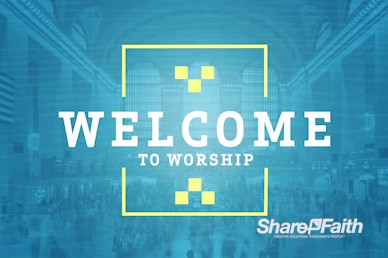 Seek First The Kingdom Of God Welcome Motion Graphic
