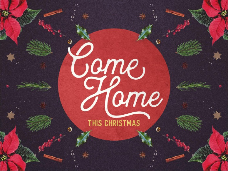 Come Home This Christmas Church PowerPoint