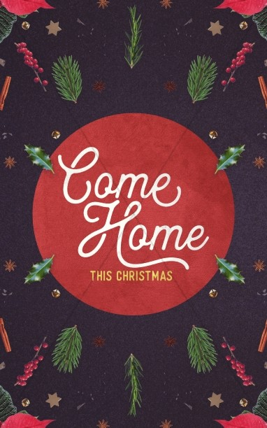 Come Home This Christmas Church Bulletin