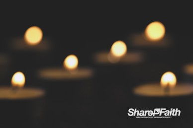 Christmas Candlelight Service Motion Background