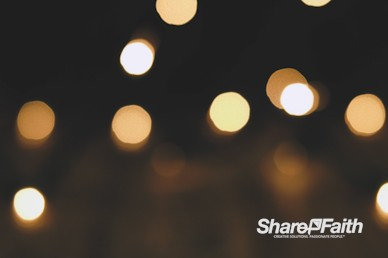 Christmas Light Bokeh Motion Background