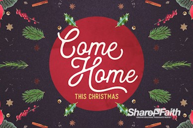 Come Home This Christmas Church Bumper Video