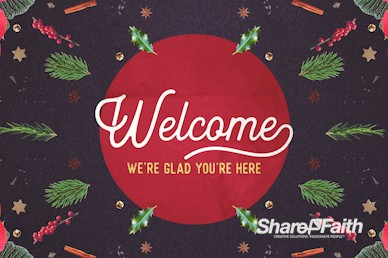 Come Home This Christmas Church Welcome Video