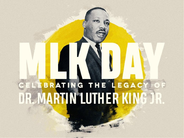 MLK Day Service PowerPoint Template