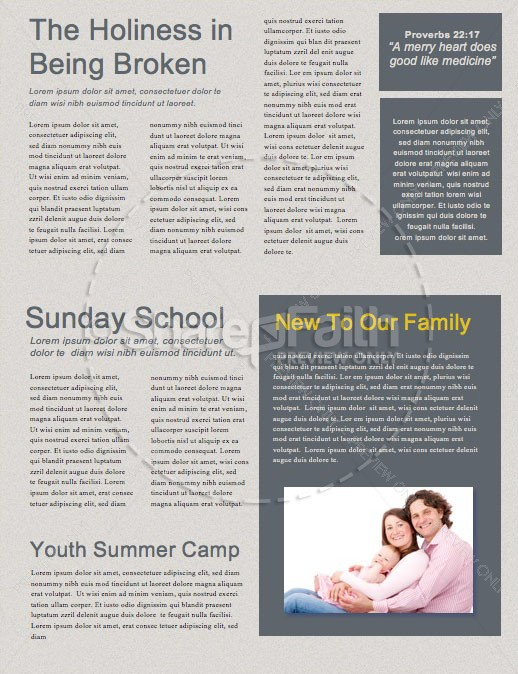 MLK Day Service Newsletter Template | page 2