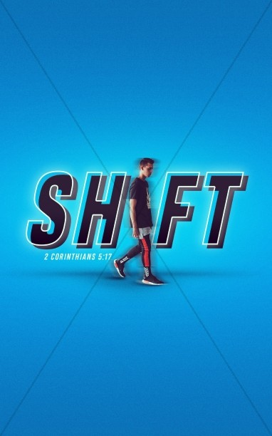 Shift Church Bulletin Template
