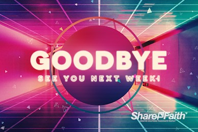 Happy New Year Modern Goodbye Motion Graphic