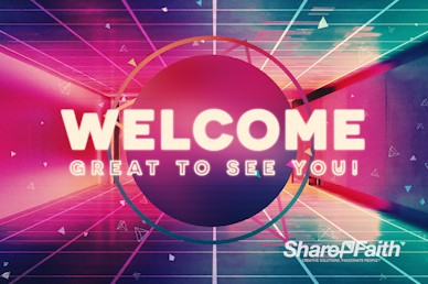 Happy New Year Modern Welcome Motion Graphic