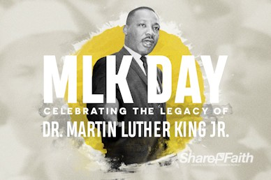 MLK Day Service Bumper Video