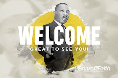 MLK Day Service Welcome Video
