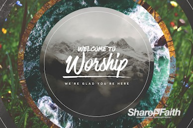 Faithfulness Of God Welcome Motion Graphic