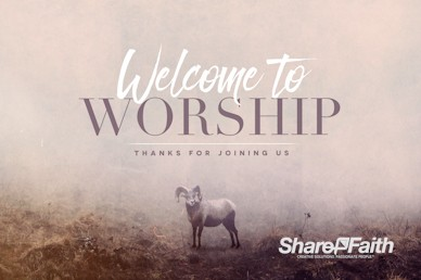 Jehovah Jireh The Lord Provides Welcome Motion Graphic
