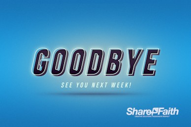 Shift Church Goodbye Motion Graphic