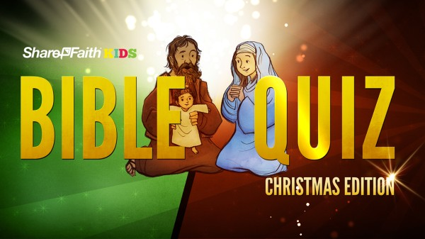 Christmas Sunday School Bible Quiz For Kids
