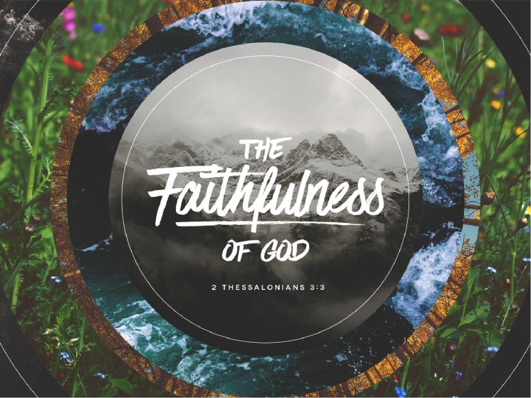 Faithfulness Of God Sermon PowerPoint