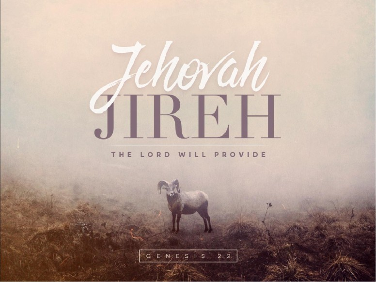 Jehovah Jireh The Lord Provides Sermon PowerPoint