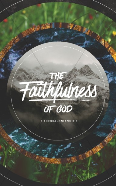 Faithfulness Of God Church Bulletin