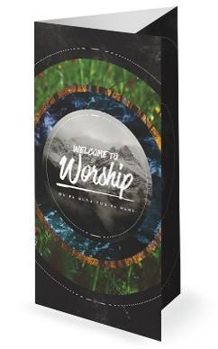 Faithfulness Of God Church Trifold Bulletin