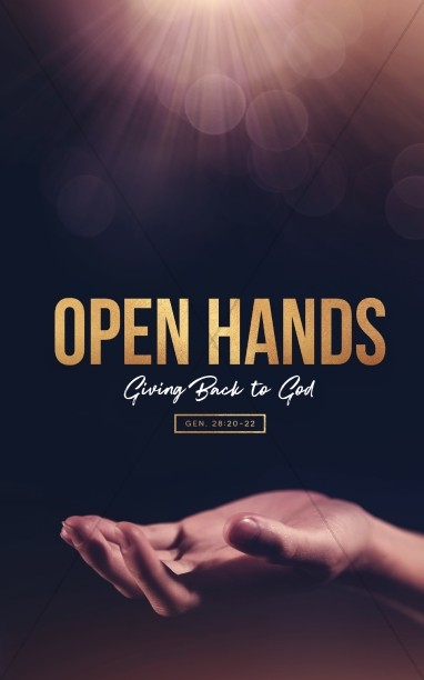 Open Hands Tithing Church Bulletin