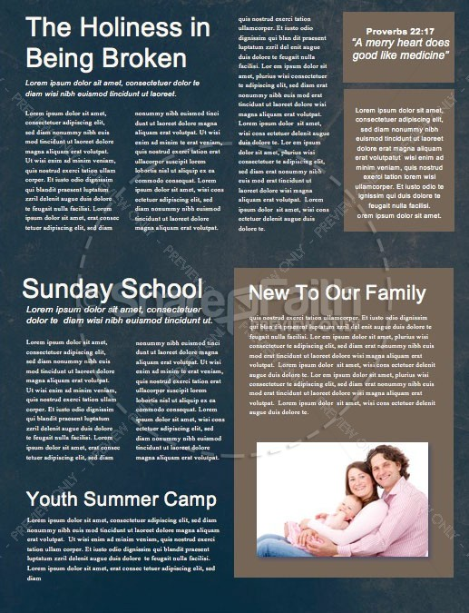 Fearfully & Wonderfully Made Church Newsletter