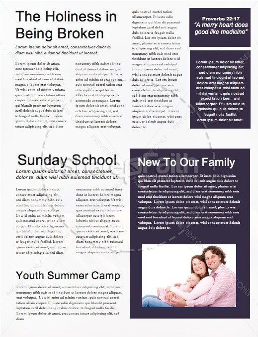 Open Hands Tithing Church Newsletter | page 2