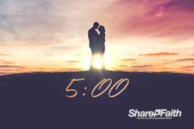 Connected Marriage Retreat Church Countdown Timer