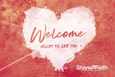 Crazy Love Welcome Motion Graphic