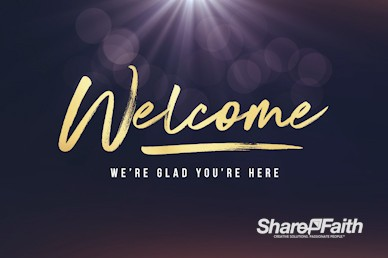 Open Hands Tithing Church Welcome Motion Graphic