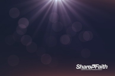 Shining Light Worship Video Background
