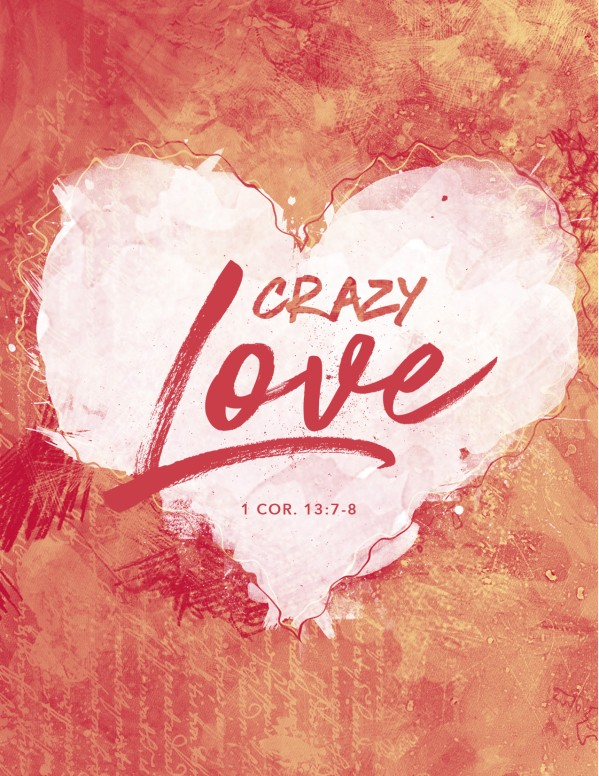 Crazy Love Church Flyer Template