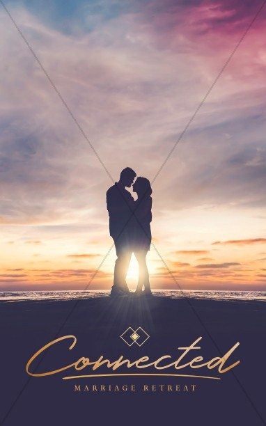 Connected Marriage Retreat Church Bulletin