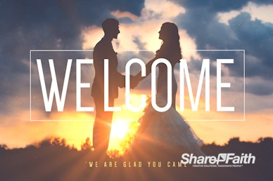 Love Is Welcome Motion Graphic