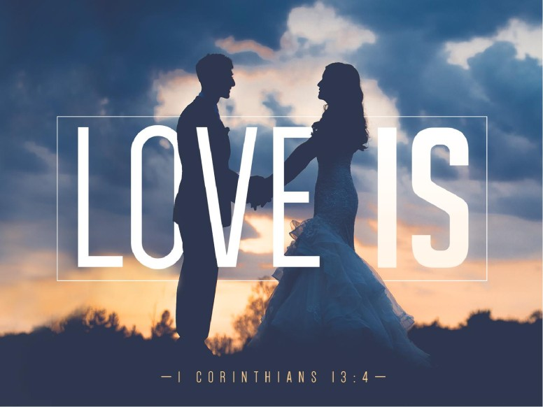 Love Is Bible Verse Sermon PowerPoint