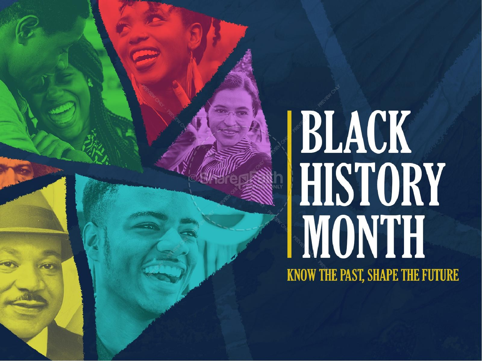 Black History Month February Church PowerPoint