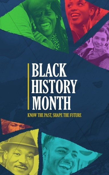Black History Month February Church Bulletin
