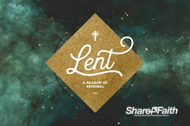 Lent Church Service Bumper Video