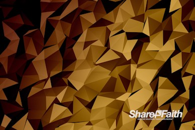 Shifting Polygon Worship Motion Background