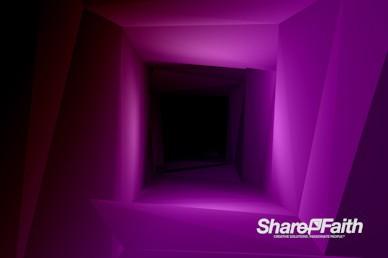 3D Warp Motion Worship Background