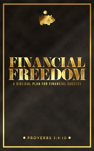 Financial Freedom Sermon Bulletin Cover Template