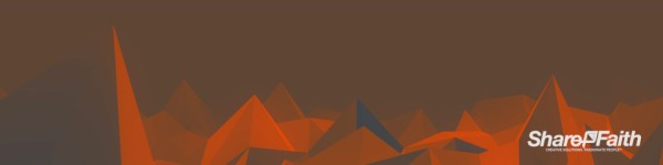 Jagged Polygon Multi Screen Motion Background