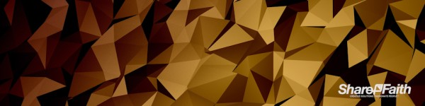 Shifting Polygon Triple Wide Motion Background