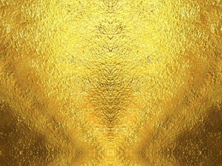 Metallic Gold Worship Background Image